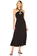 Mara Hoffman Annika Dress in Black