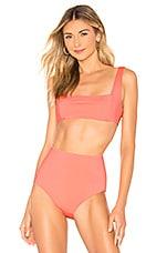 Mara Hoffman Meli Bikini Top in New Origami