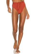Mara Hoffman Goldie Bikini Bottom in Riad
