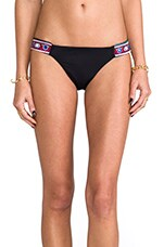 Mirror Embroidery Bottom in Black