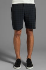 Easton Check Short in Washed Ink Multi