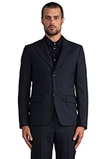 Travis Suiting Blazer in Normandy Blue