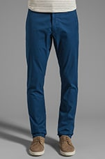 Cambridge Cotton Pant in Estate Blue