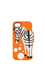 Marc by Marc Jacobs Zebra iPhone 5 Case in Orange Multi