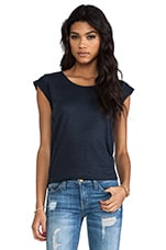Carmen Tee in Normandy Blue