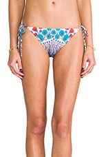 Maddy Botanical Bottoms in Whisper White