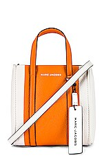 Marc Jacobs The Tag Tote 21 in Kumquat Multi
