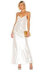 Michelle Mason Bias Gown in Ivory