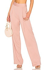 Michelle Mason Wide Leg Trouser in Mauve