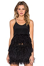 Feather Cami in Black