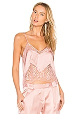 Lace Cami in Dark Blush