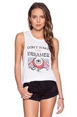 MATE the Label Mate Don't Wake The Dreamer Tank in White