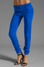 Tapered Pants in Blue