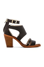 Harrison Ankle Heel in Black