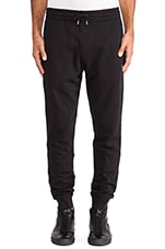 Jogging Sweatpants in Darkest Black