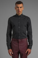 Shirting Harness Button Up in Velvet Black