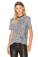 Classic T-Shirt en Broken Stripe