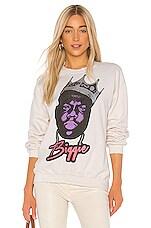 Madeworn Notorious BIG Sweatshirt in White