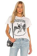 Madeworn Led Zeppelin Tee in Off White