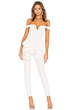 Michael Costello x REVOLVE Jeric Jumpsuit in Ivory