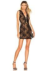 Michael Costello x REVOLVE Niley Dress in Black