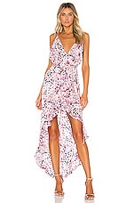 Michael Costello x REVOLVE Thaia Dress in Pink Blossom