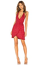 Michael Costello x REVOLVE Kai Dress in Ruby Red