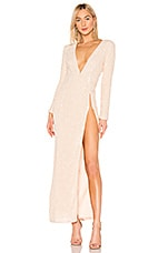MICHAEL COSTELLO X REVOLVE Angela Gown in Ivory