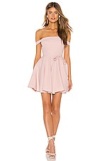 Michael Costello x REVOLVE Cacey Dress in Blush