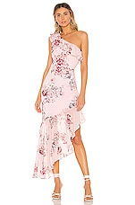 Michael Costello x REVOLVE Cole Dress in Pink Floral