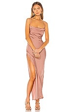 Michael Costello x REVOLVE Braxton Dress in Rose