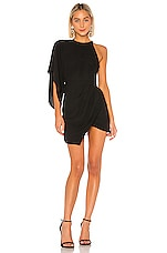 Michael Costello x REVOLVE Lexa Dress in Black