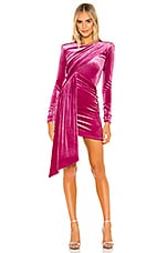 Michael Costello x REVOLVE Hollie Mini Dress in Magenta