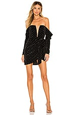 Michael Costello x REVOLVE London Mini Dress in Black