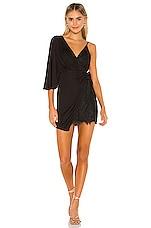 Michael Costello x REVOLVE Hope Mini Dress in Black