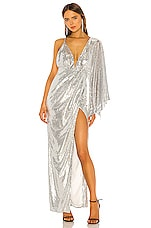 Michael Costello x REVOLVE Tina Gown in Silver