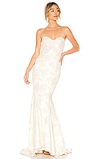 Michael Costello x REVOLVE Amelia Gown in Ivory