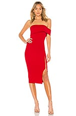 Michael Costello x REVOLVE Audrey Dress in Red
