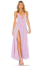 Michael Costello x REVOLVE Justin Gown in Lavender