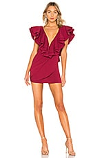 Michael Costello x REVOLVE Jackson Dress in Berry