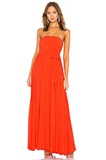 Michael Costello x REVOLVE Carrie Gown in Coral