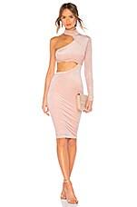 Michael Costello x REVOLVE Sevigne Midi Dress in Blush