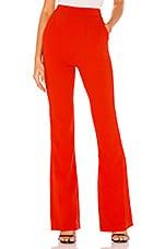 Michael Costello x REVOLVE Linda Pant in Red Orange