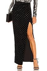 Michael Costello x REVOLVE Lia Skirt in Black