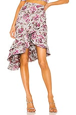 Michael Costello x REVOLVE Vessi Skirt in Pink Floral