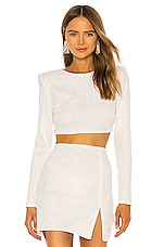 Michael Costello x REVOLVE Sierra Top in White