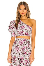 Michael Costello x REVOLVE Vessi Top in Pink Floral