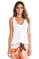 Savanna Top in Optic White