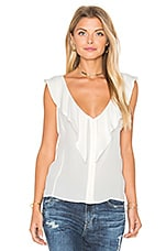 Sharon Top in Optic White