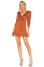 Mes Demoiselles Fancesca Dress in Orange